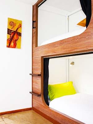 Dorm at El Hostelito, Quito