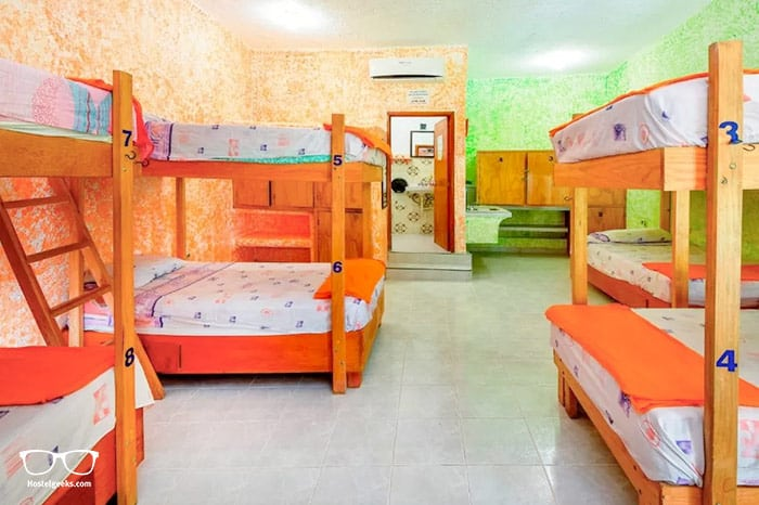 Amigos Hostel is one of the best hostels in Mexico, North America