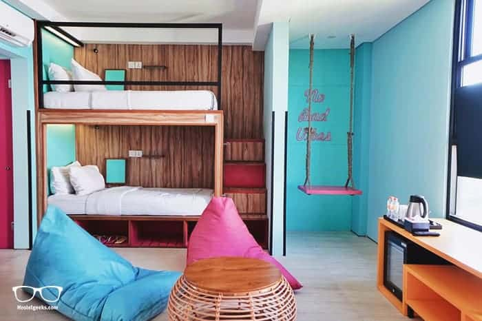 Cara Cara Inn in Kuta is one of the best hostels in Bali, Indonesia