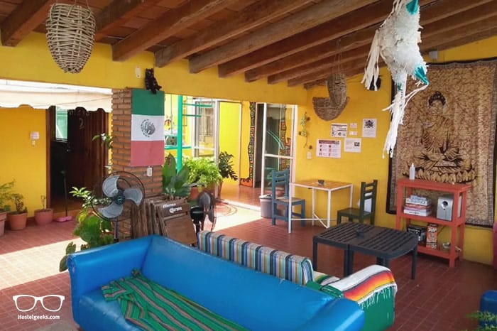 Casa Kraken is one of the best hostels in Mexico, North America