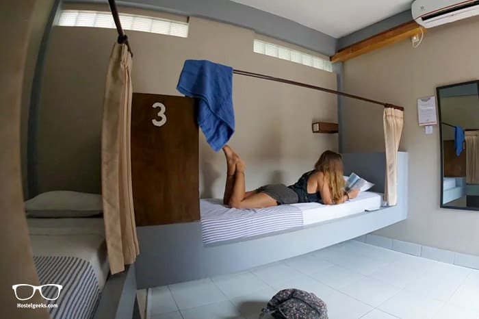 Compass Divers Hostels is one of the best hostels in Gili Trawangan, Indonesia