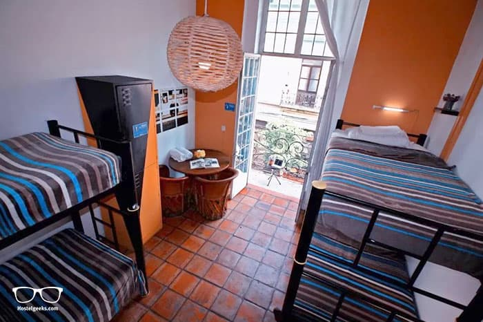 Hostel Hospedarte Central is one of the best hostels in Mexico, North America
