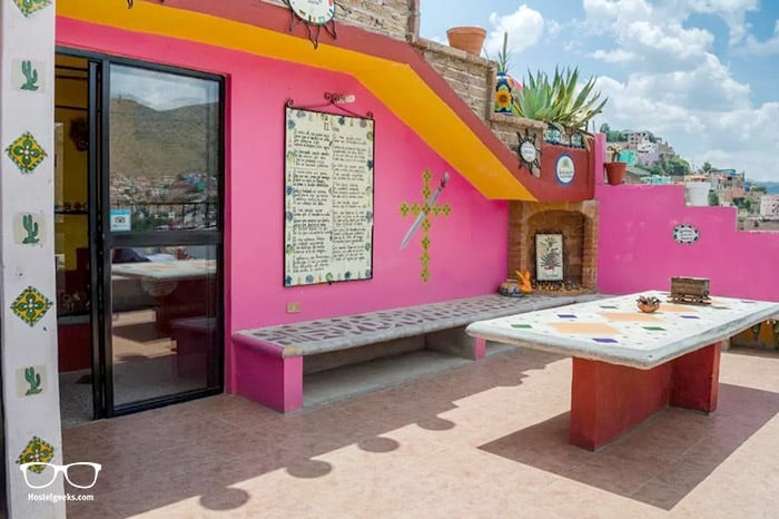 La Casa de Dante is one of the best hostels in Mexico, North America