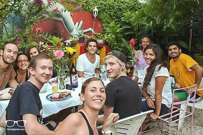 La Casa del Tio Rafa is one of the best hostels in Mexico, North America