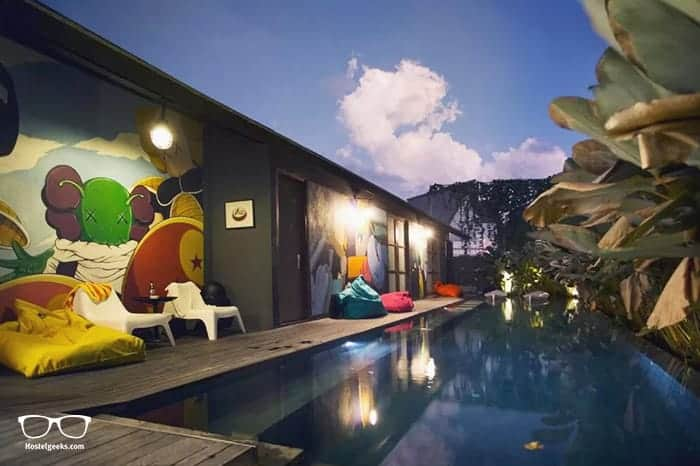M Boutique Hostel in Seminyak is one of the best hostels in Bali, Indonesia