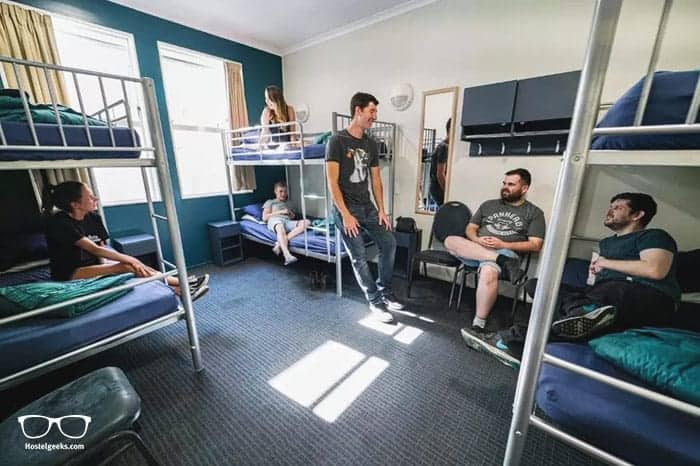 Nomads Capital Backpackers is one of the best hostels in Wellington, New Zealand