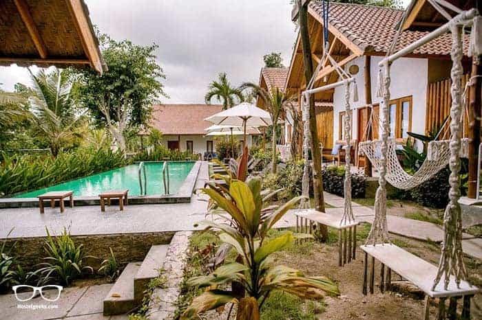 Nuansa Penida Hostel in Penida Island is one of the best hostels in Bali, Indonesia