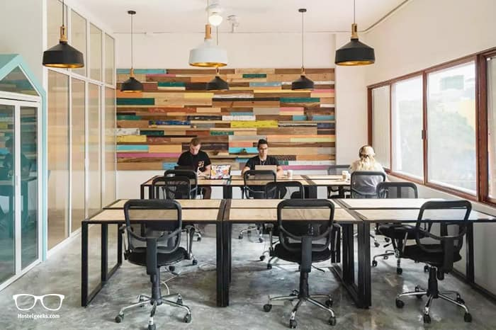 Selina CoWorking spaces are set up perfectly for digital nomads