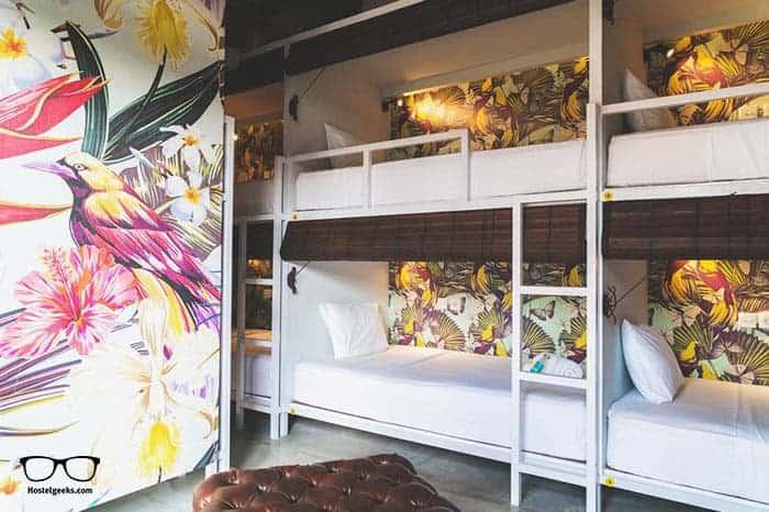 Socialista Lifestyle Hostel in Seminyak is one of the best hostels in Bali, Indonesia
