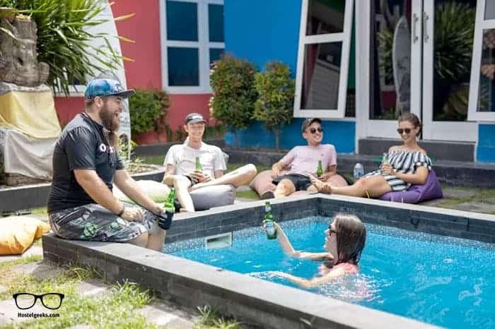 SR Hostel in Uluwatu is one of the best hostels in Bali, Indonesia