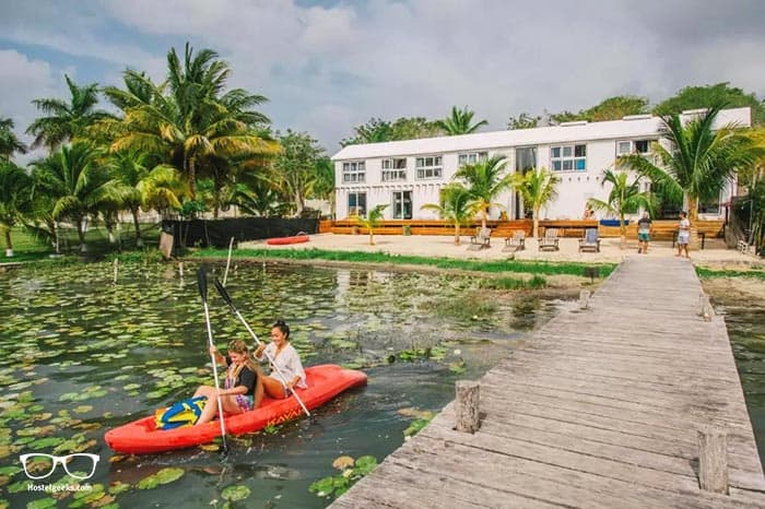 The Yak Lake House is one of the best hostels in Mexico, North America