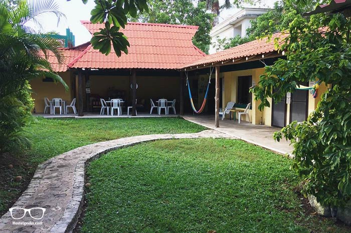 Amigos Hostel is one of the best hostels in Cozumel, Mexico
