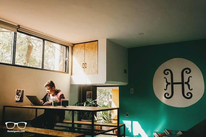 Hostal Hidalgo is one of the best hostels in Guadalajara, Mexico
