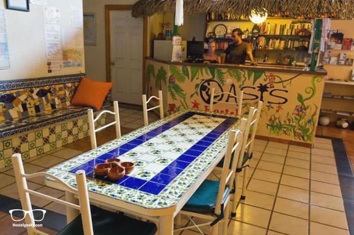 Oasis Hostel is one of the best hostels in Puerto Vallarta, Mexico