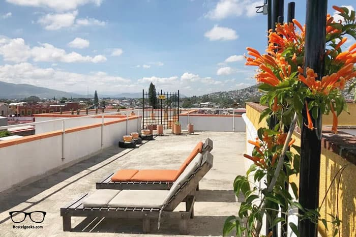 Andaina Youth Hostel is one of the best hostels in Oaxaca, Mexico