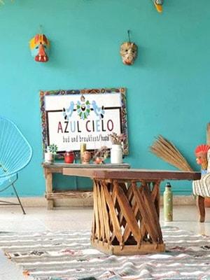 Azul Cielo Hostel in Oaxaca, Mexico