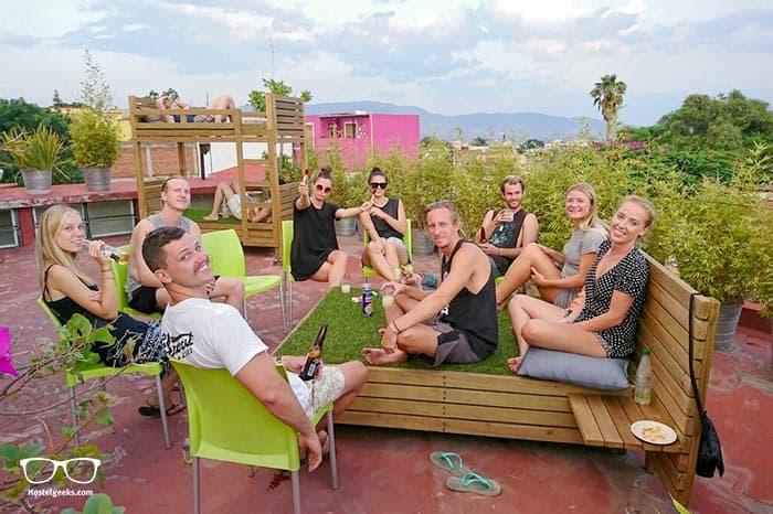 Casa Angel Hostel is one of the best hostels in Oaxaca, Mexico
