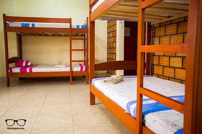 El Mural Backpackers is one of the best hostels in Peru, South America