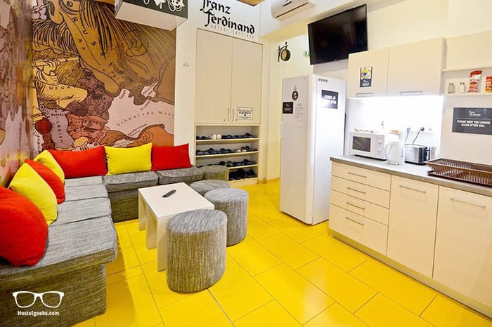 Hostel Franz Ferdinand is one of the best hostels in Sarajevo, Bosnia and Herzegovina