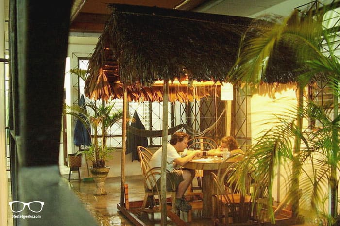 Golondrinas Hostel Iquitos is one of the best hostels in Peru, South America