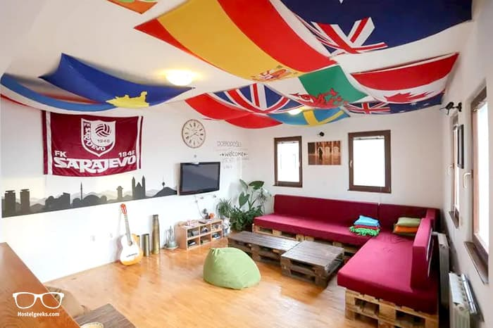 Haris Youth Hostel is one of the best hostels in Sarajevo, Bosnia and Herzegovina
