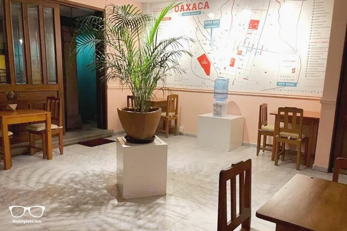 Hostal Central is one of the best hostels in Oaxaca, Mexico