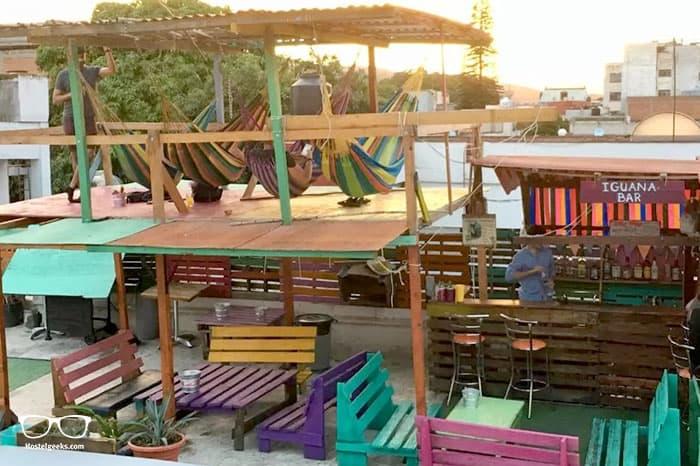Iguana Hostel is one of the best hostels in Oaxaca, Mexico