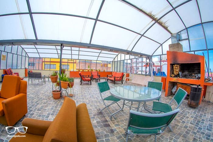 Inka's Rest Hostel Puno is one of the best hostels in Peru, South America