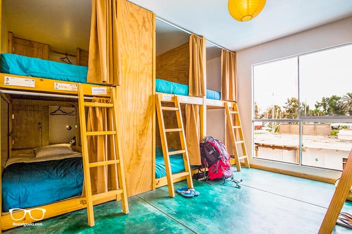 Kokopelli Hostel Paracas is one of the best hostels in Peru, South America