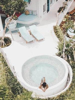 Kos One Hostel in Canggu, Bali Indonesia