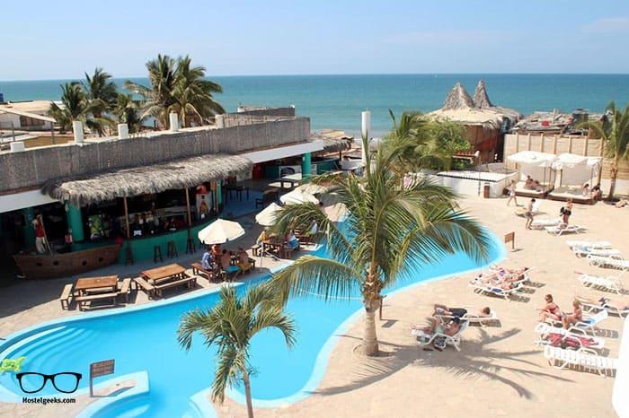 Loki del Mar Mancora is one of the best hostels in Peru, South America