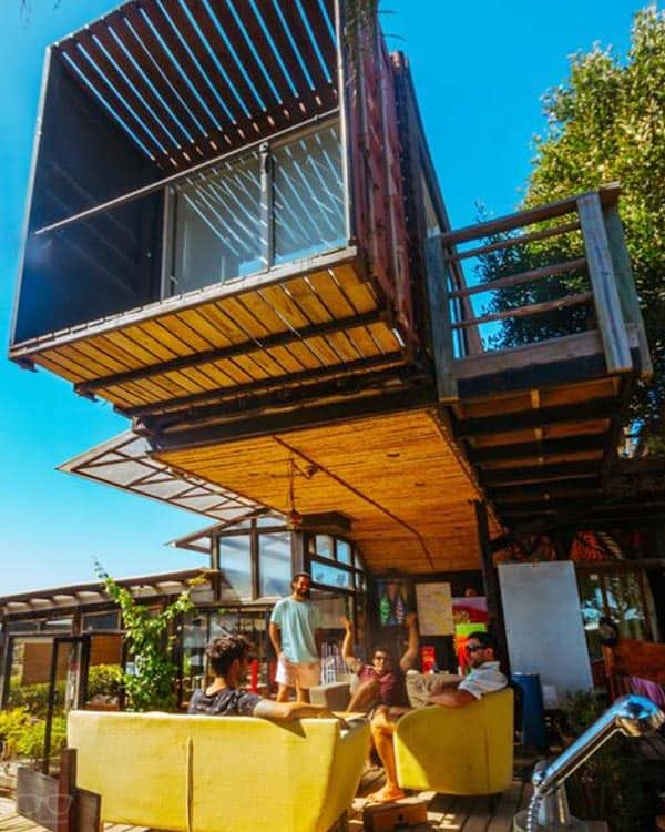 The Sirena Insolente Hostel is one of the best hostels in Chile, South America
