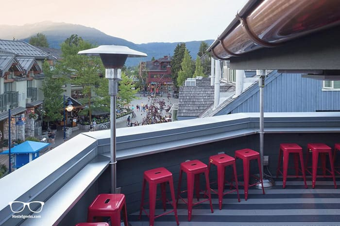 Pangea Pod Hotel is one of the best hostels in Whistler, Canada