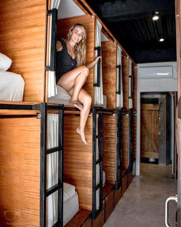 Bamba Capsule Hotel is one of the best hostels in Lombok Island, Indonesia