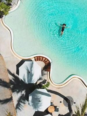 Bamba Capsule Hotel in Lombok, Indonesia