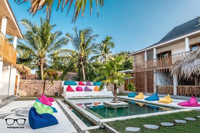 Kaniu Lombok Hostel is one of the best hostels in Lombok Island, Indonesia