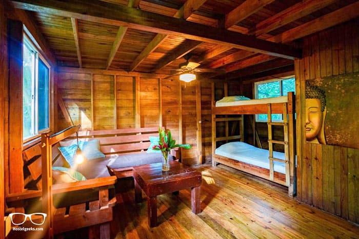 Palmar Beach Lodge is one of the best hostels in Bocas del Toro, Panama