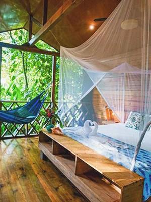 Palmar Beach Lodge in Bocas del Toro, Panama