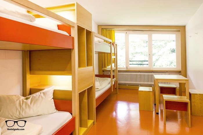 HI Munich Park Youth Hostel is one of the best hostels in Munich, Germany