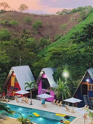 Greengo's Hotel in Semuc Chamey, Guatemala