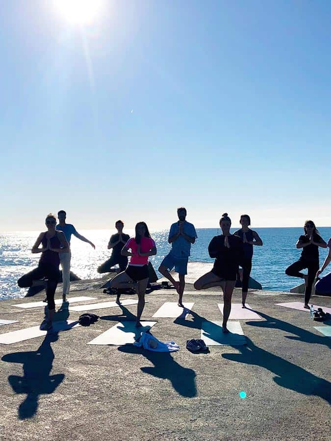 Sunrise & Sunset Beach Yoga