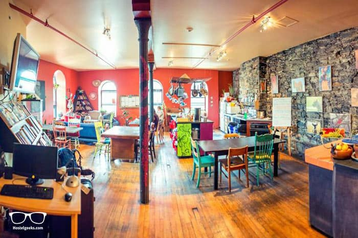 The Alternative Hostel of Old Montreal is one of the best hostels in Montreal, Canada