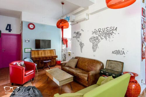Hostel of the Sun is one of the best hostels in Naples, Italy