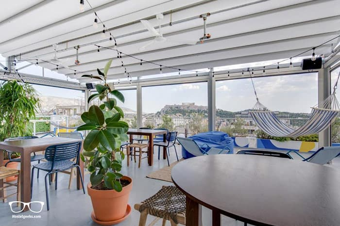 Selina Athens Theatrou is one of the best hostels in Athens, Greece