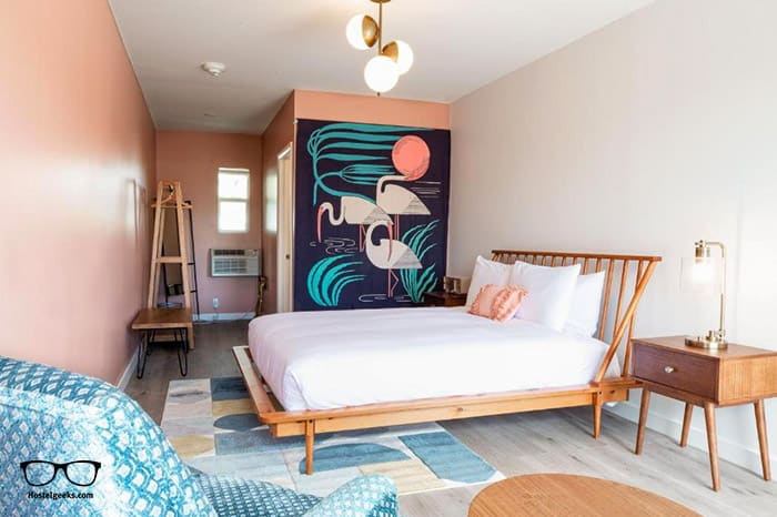 Selina Gold Dust is one of the best hostels in Miami, USA