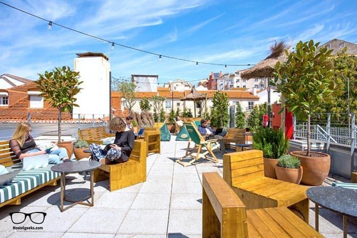Selina Secret Garden Lisbon is one of the best hostels in Lisbon, Portugal